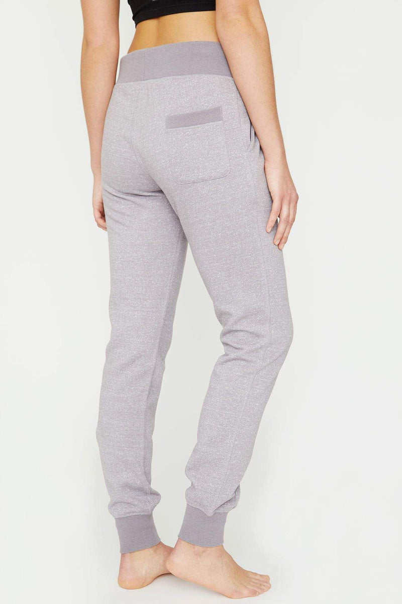 Ivory Ella W Pants Light Grey Marled Jogger
