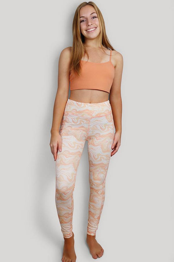 Esma High Waist Marble Legging