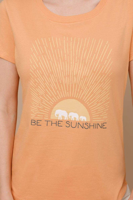 Amie Slim Fit Sunshine Tee