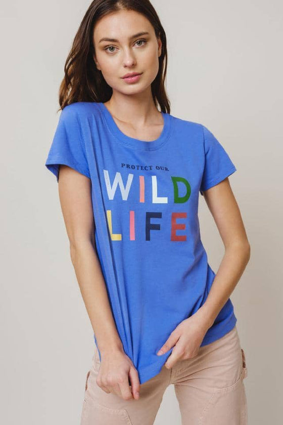 Amie Slim Wildlife Tee