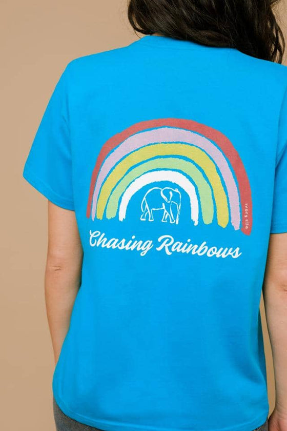 Classic Regular Fit Chasing Rainbows Tee