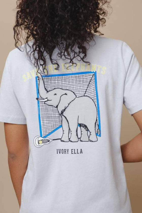 Ella Regular Fit Lacrosse Tee