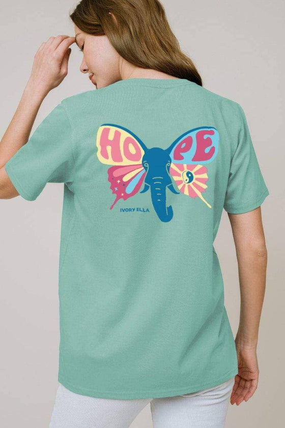 Ella Regular Fit Hope Tee