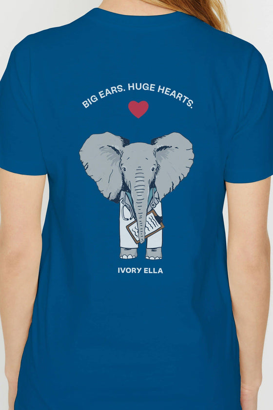Ella Regular Fit Huge Heart Tee