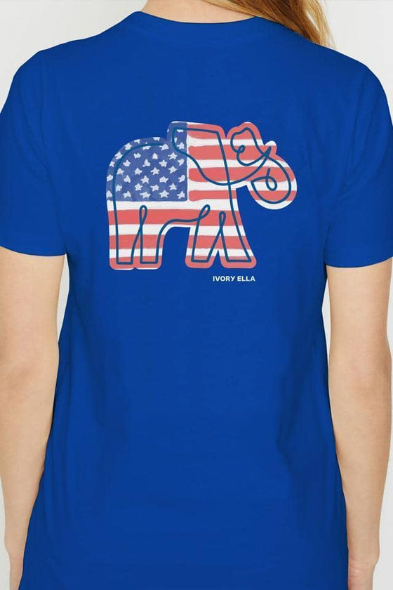 Ella Regular Fit Americana Tee