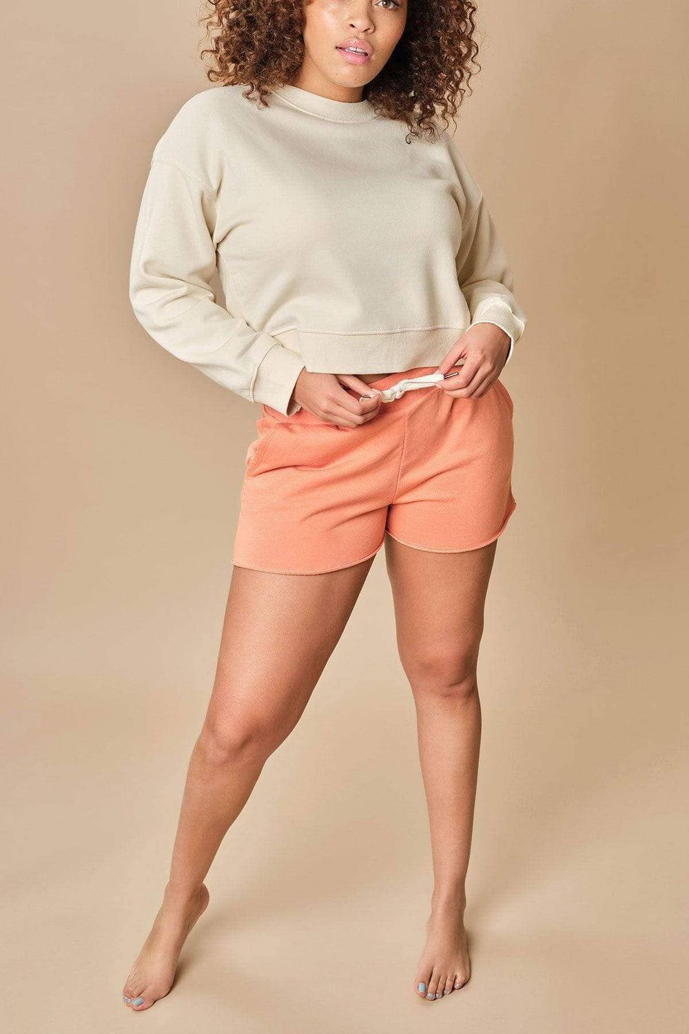 Ivory Ella W Shorts Annalee Cut-off Short