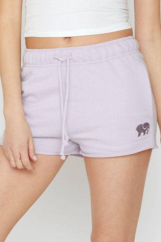Ivory Ella Women's Bottoms Amethyst Organic French Terry Shorts
