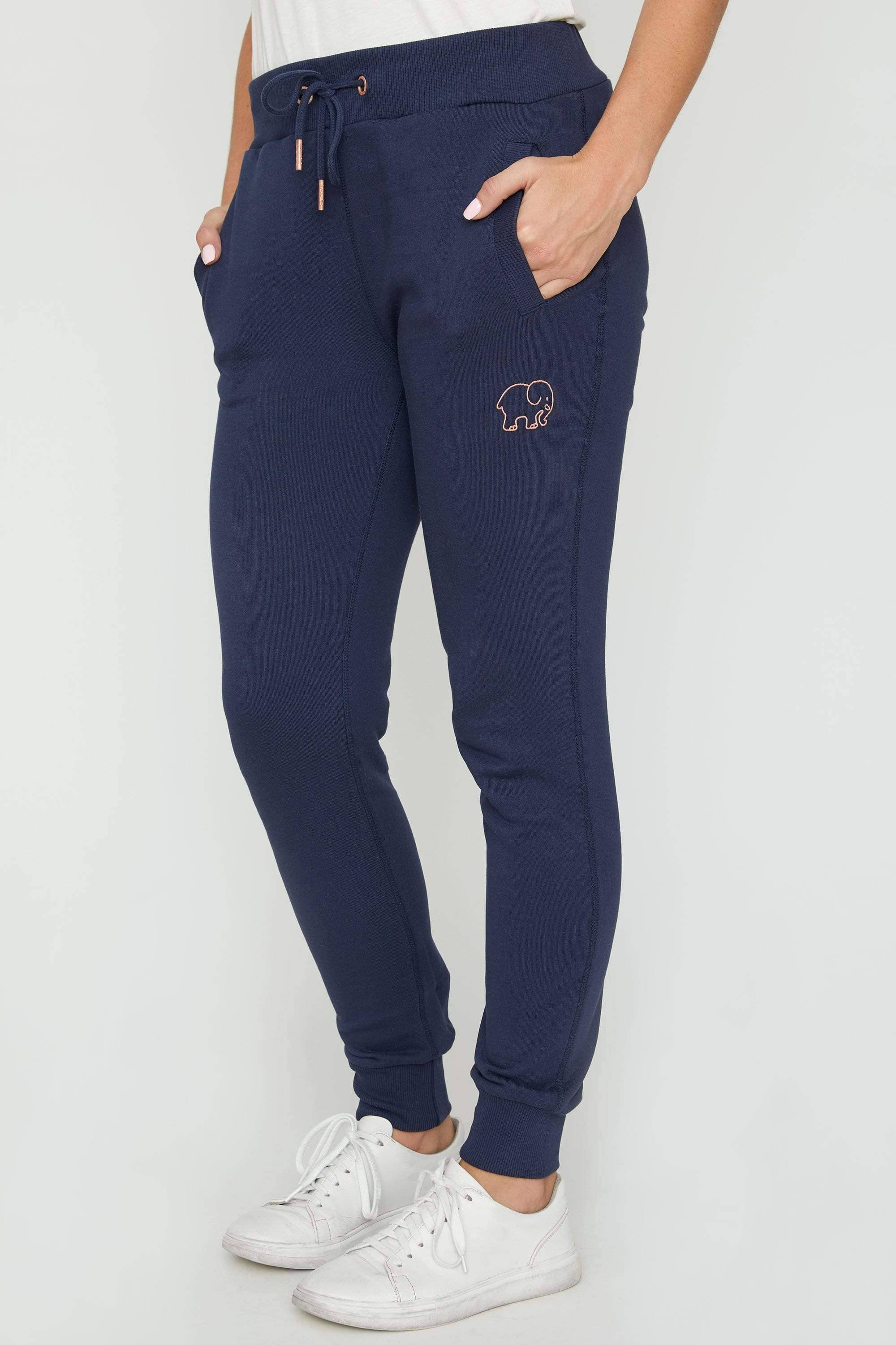 Ivory Ella Women's Bottoms Dark Navy Sierra Organic Jogger