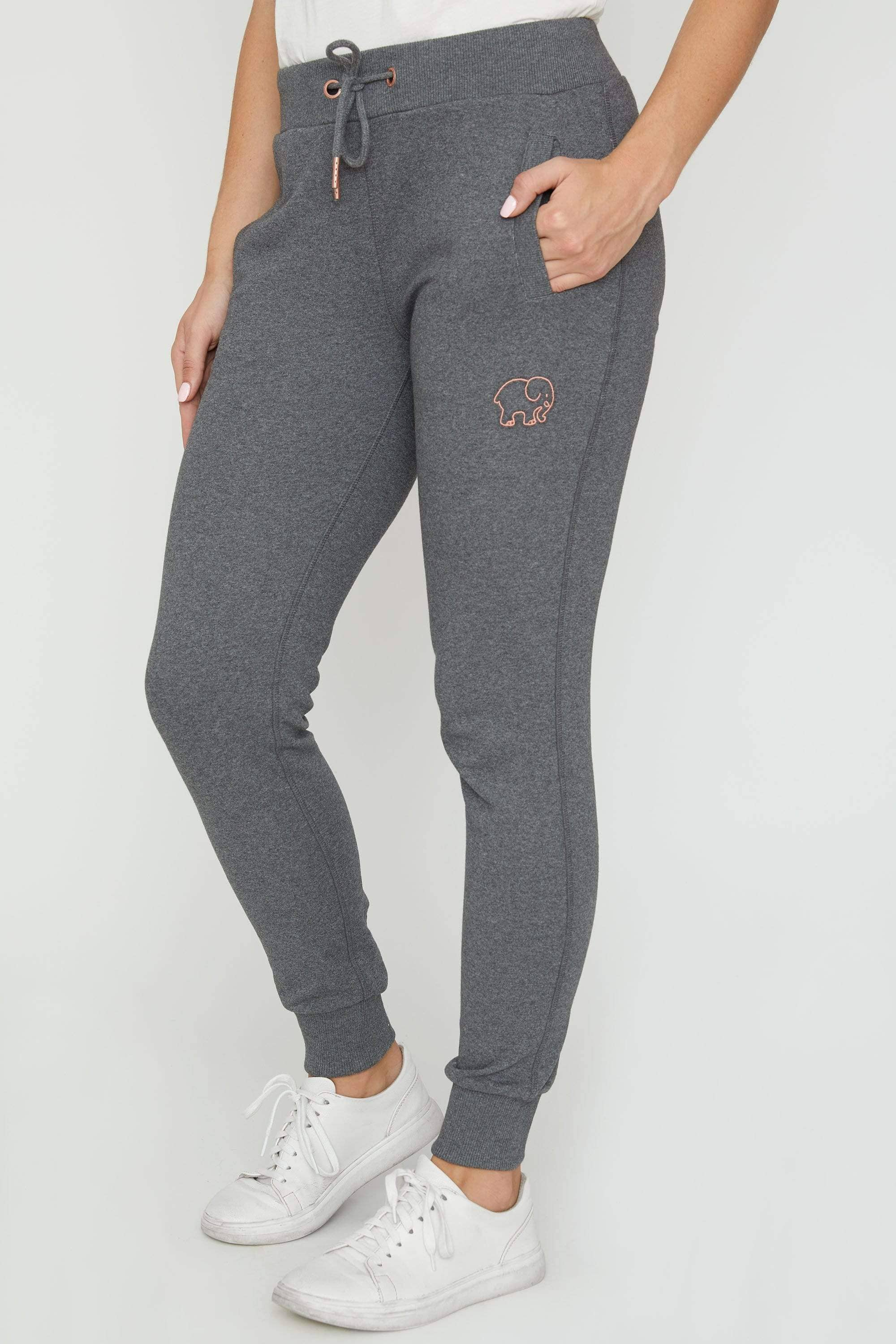 Grey Sierra Organic Jogger - Ivory Ella - Women's Bottoms