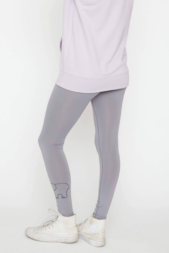 Diamond Grey Recycled Poly Legging