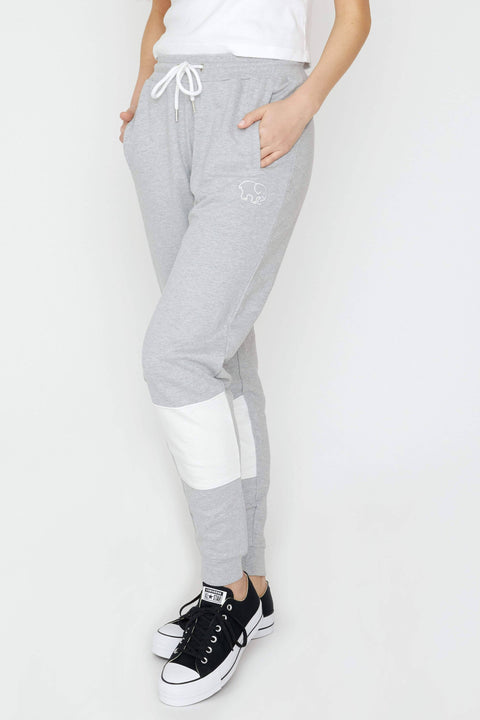 Ivory Ella Women's Bottoms XS Heather Grey Colorblock Jogger
