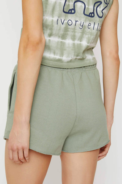 Lily Pad Organic French Terry Shorts