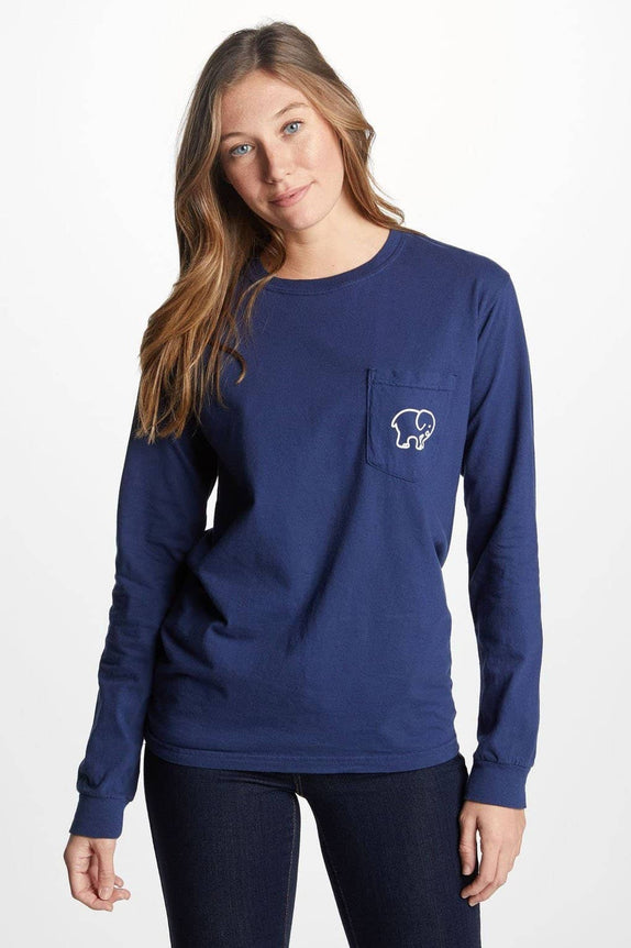 Classic Fit Dark Navy Signature Logo