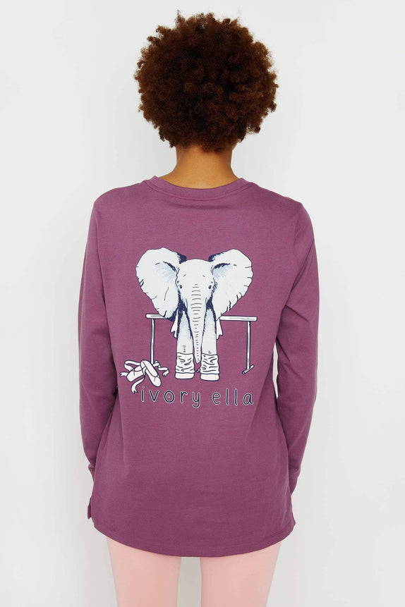 Ella Fit Berry Dance Long Sleeve Tee