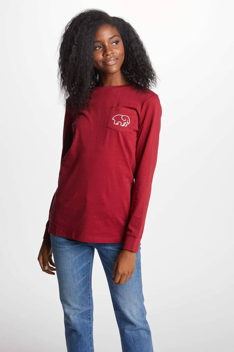 Ivory Ella Women's Long Sleeve Shirts XXS Ella Fit New Basketball Tee