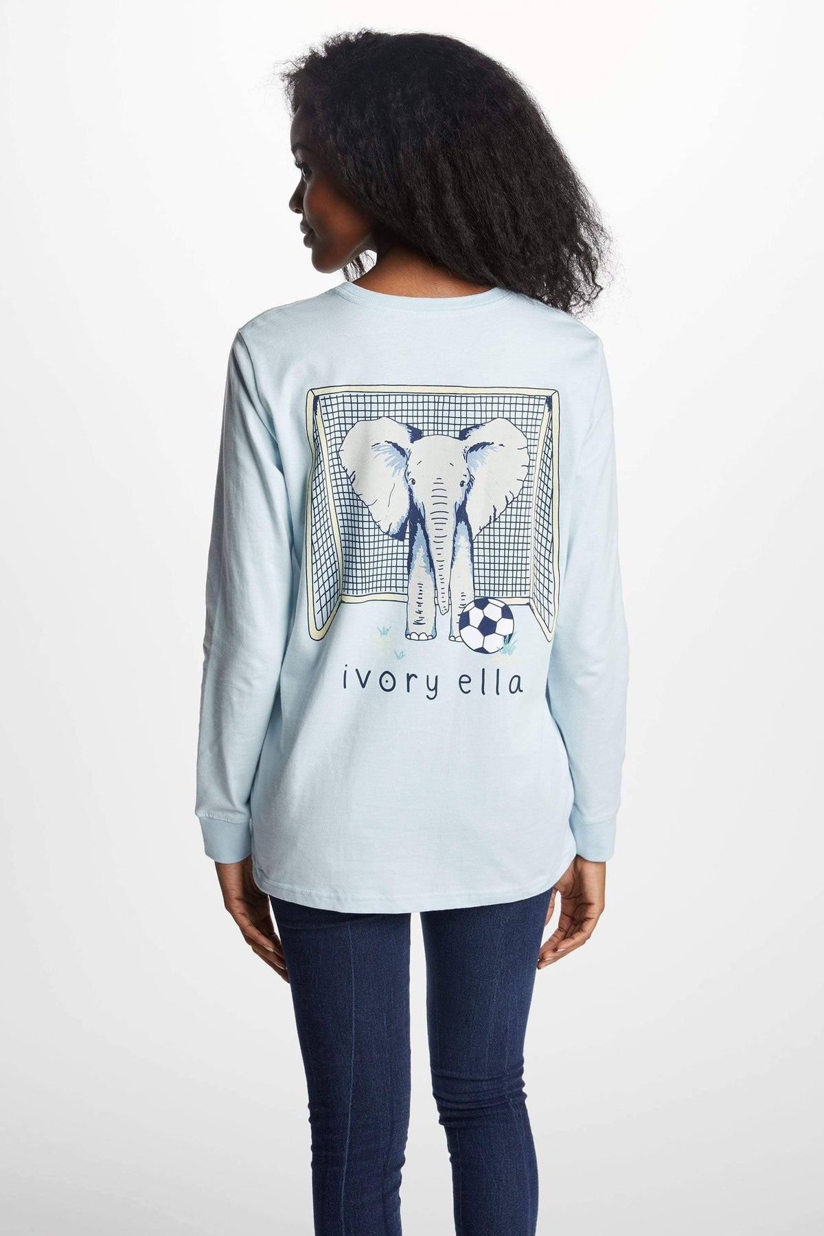 Ivory Ella Women's Long Sleeve Shirts XXS Ella Fit New Soccer Tee