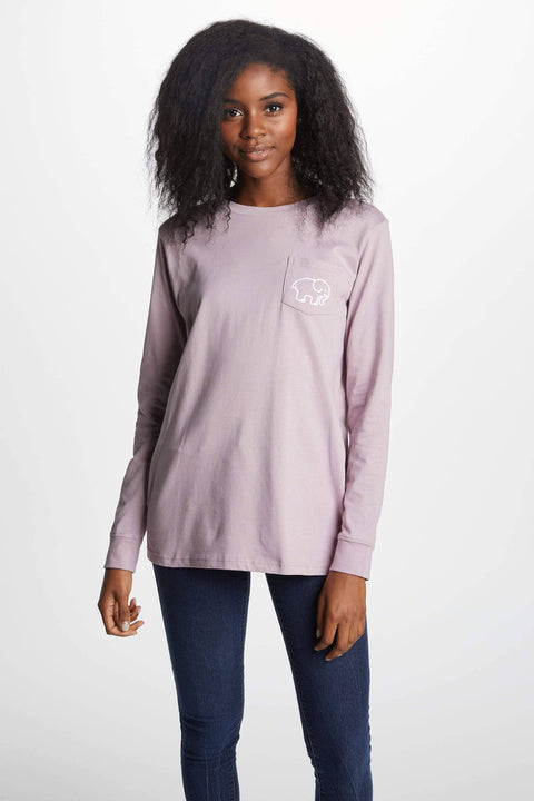 Ivory Ella Women's Long Sleeve Shirts XXS Ella Fit Nightshade Rania