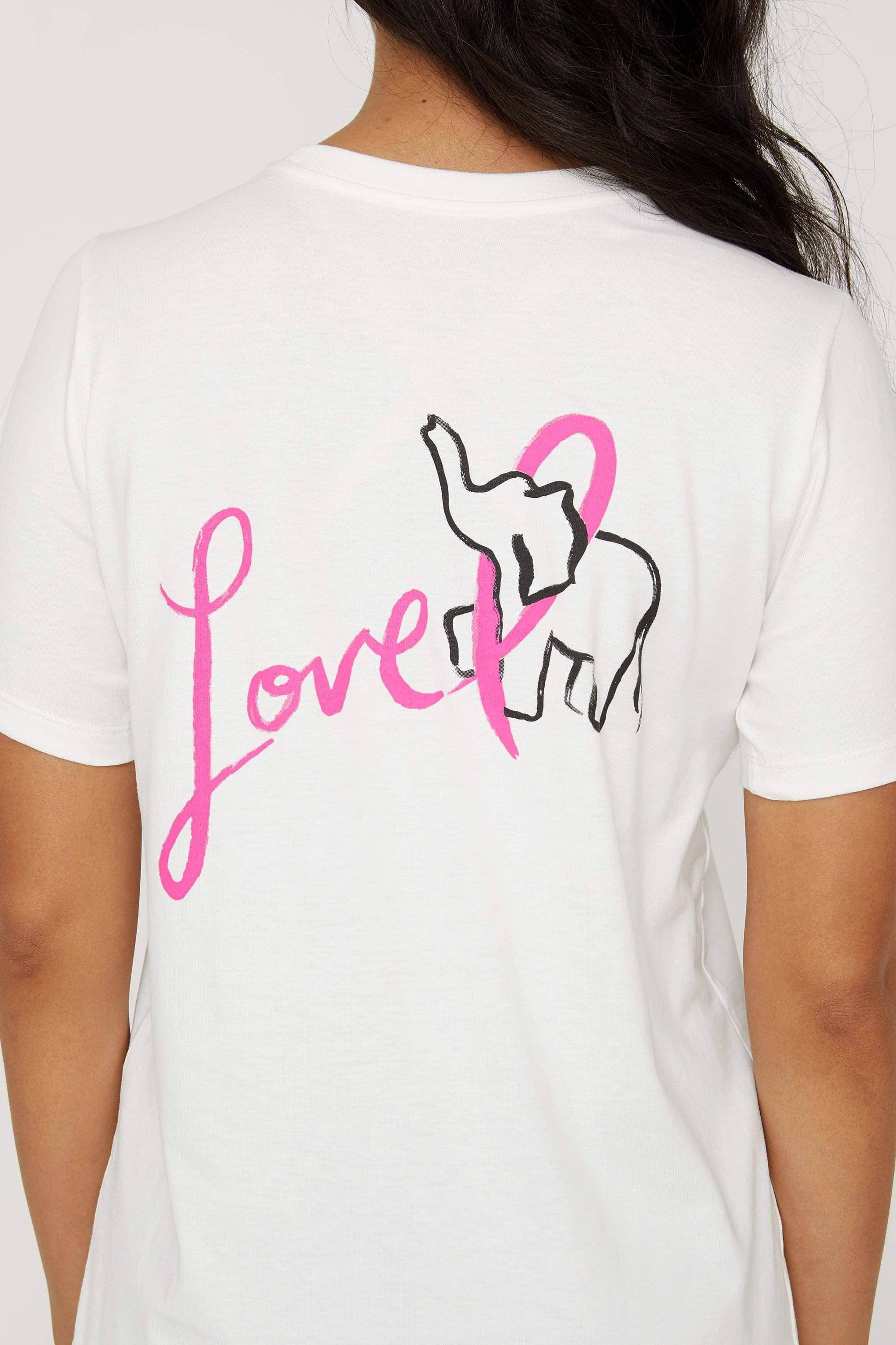 Hope is Love Ella Tee - Ivory Ella - Women's Short Sleeve Tees