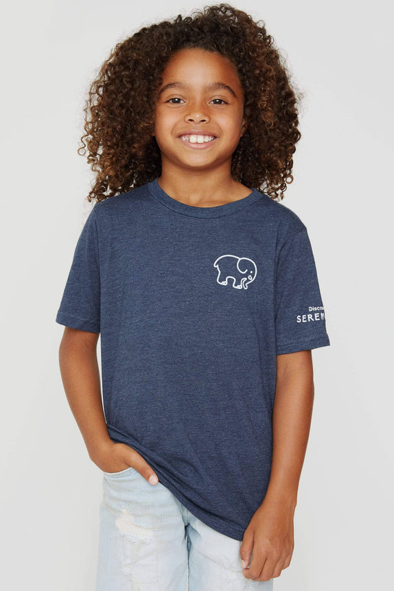 Kids Elephant Serengeti Tee