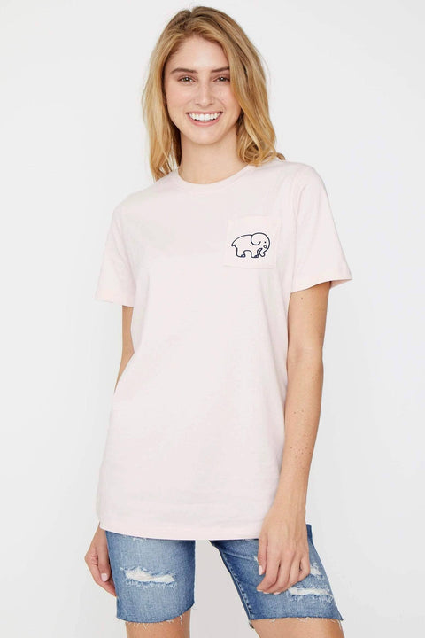 Ivory Ella Women's Short Sleeve Tees XXS Ella Fit Crystal Pink Cheerleading Tee