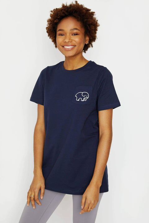 Ivory Ella Women's Short Sleeve Tees XXS Ella Fit Dark Navy Soccer Tee