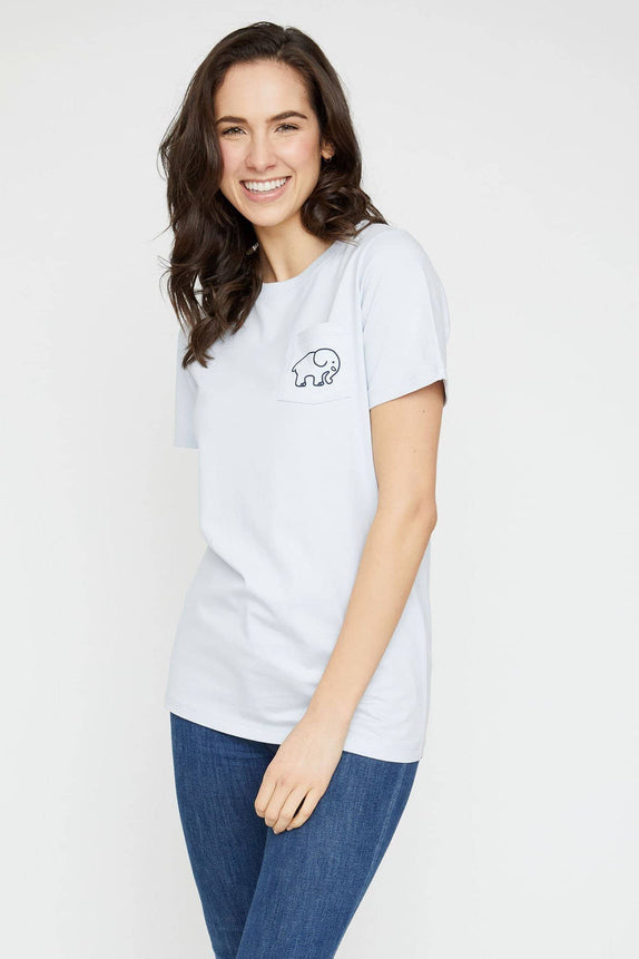 Ella Fit Moonstone Softball Tee