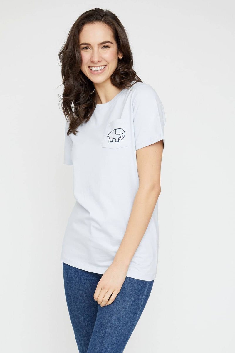 Ivory Ella Women's Short Sleeve Tees XXS Ella Fit Organic Moonstone Softball Tee