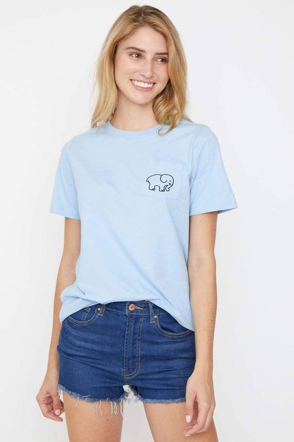 Ella Fit Powder Blue Golf Tee