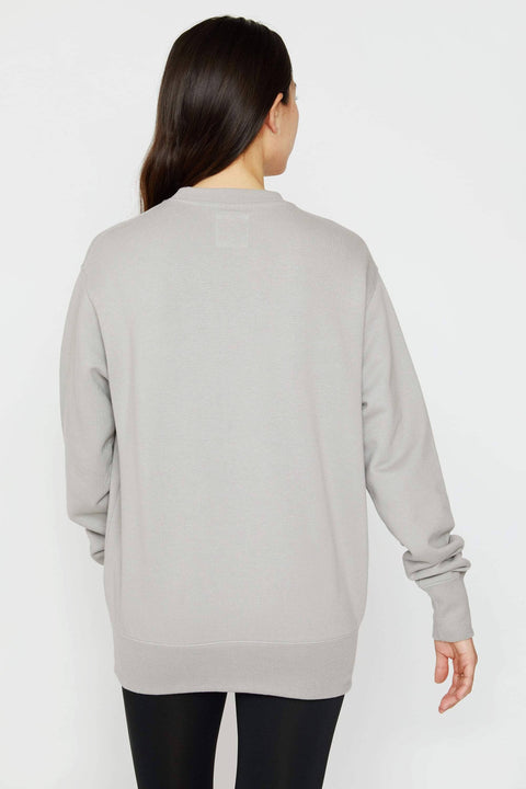 Ivory Ella Women's Sweatshirts XS Diamond Grey Organic Crewneck Sweatshirt
