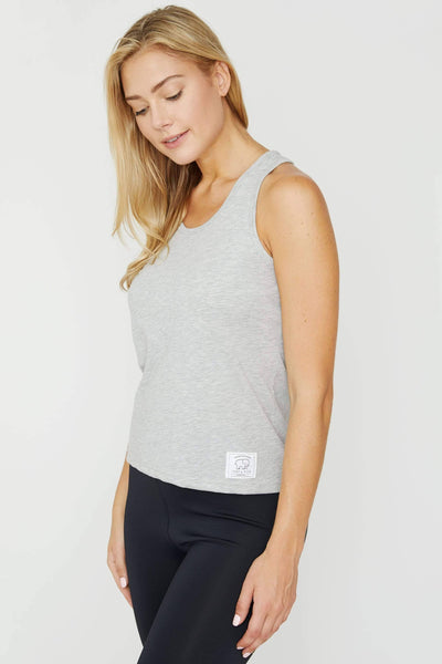 Heather Grey Essential Tank - Ivory Ella - Women's Tanks