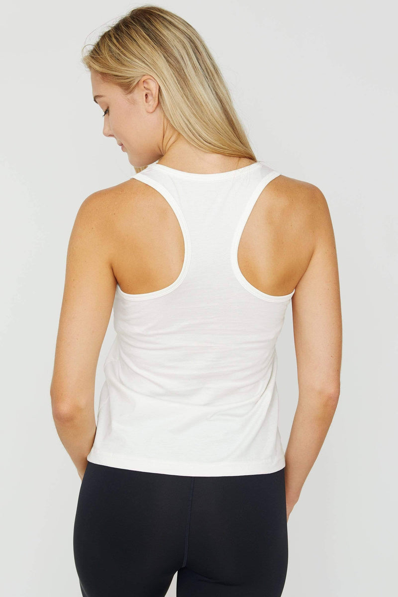 Soft White Essential Tank - Ivory Ella - Women's Tanks