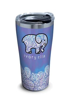 Stainless Steel Tervis Frosted Paisley 20oz Tumbler