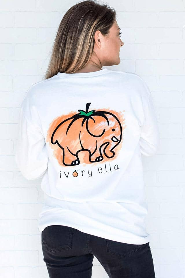 Heritage Pastel Pumpkin Long Sleeve T-shirt