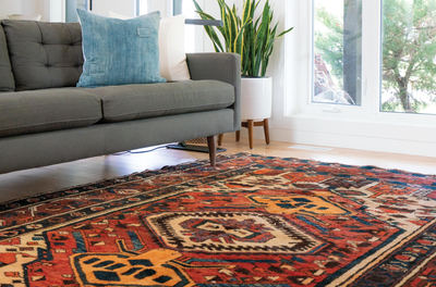 PSA: You Can Never Go Wrong With Patterned Rugs