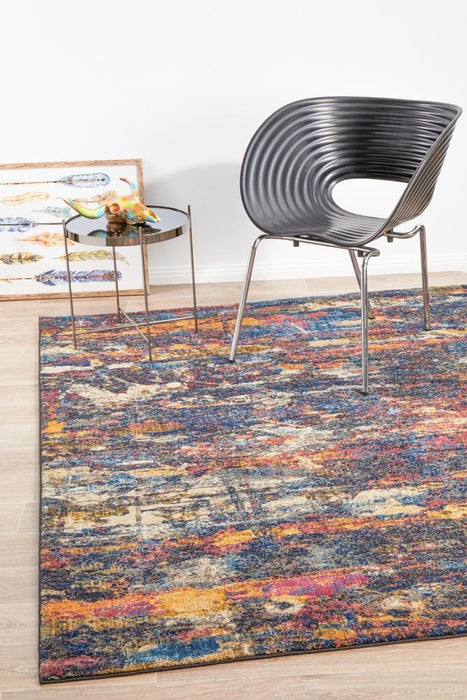 Splash Modern Midnight Rug  - Rug Emporium - 3