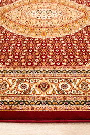 Stunning Formal Oriental Design Rug Red (617905750067)