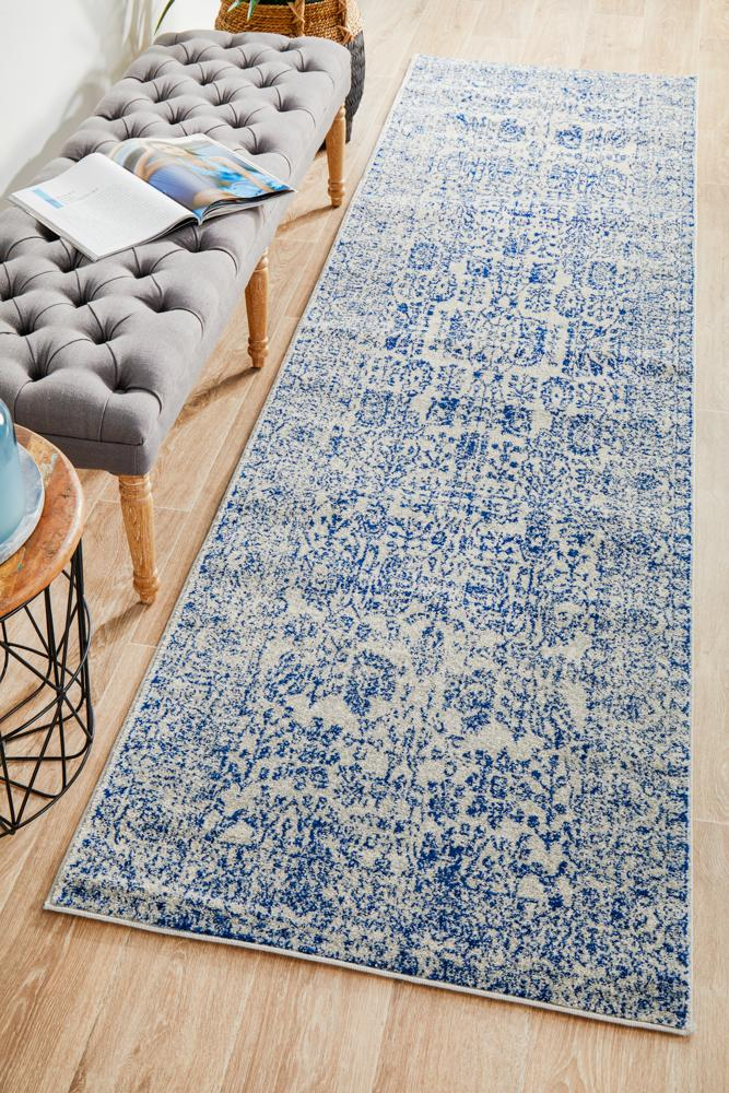 Frost Blue Transitional Rug  - Rug Emporium - 9