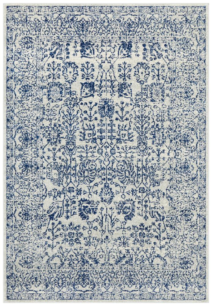 Frost Blue Transitional Rug  - Rug Emporium - 7