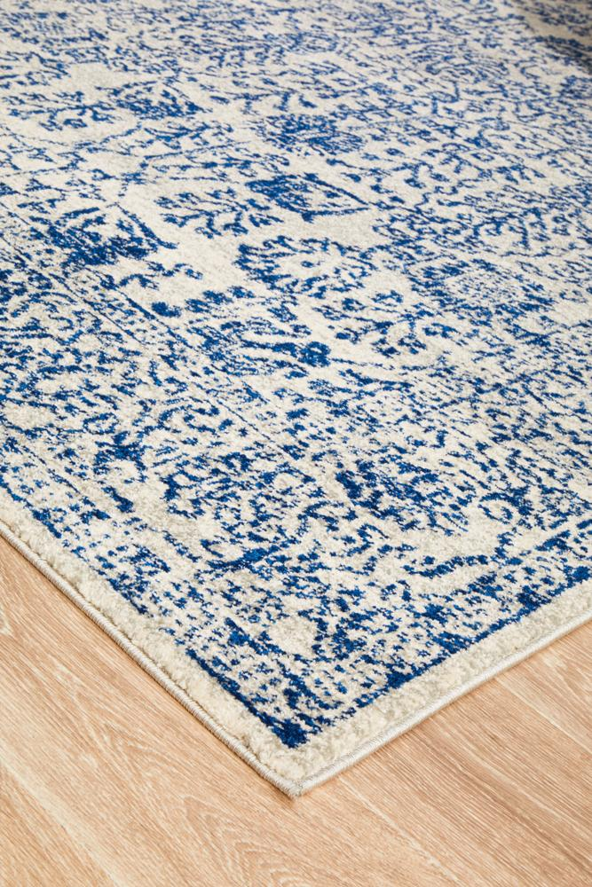 Frost Blue Transitional Rug  - Rug Emporium - 8