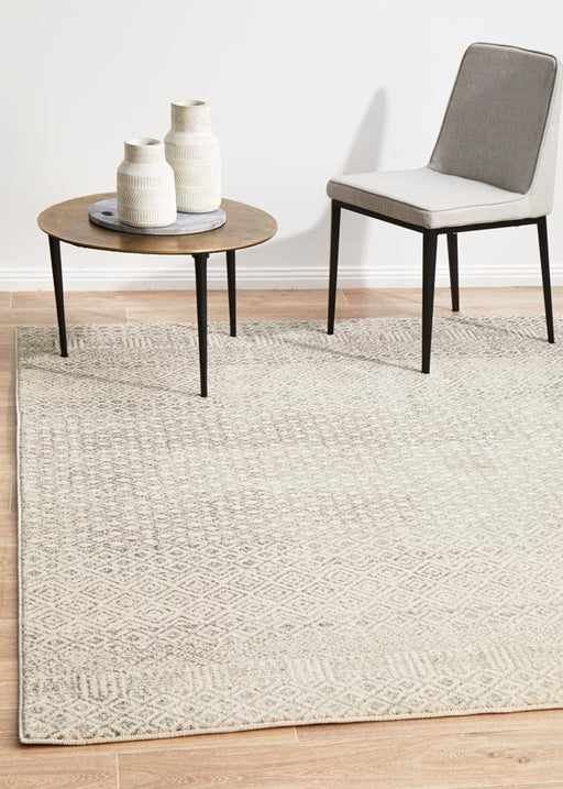 Diamond Grey Transitional Rug  - Rug Emporium - 1