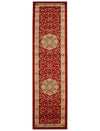 Medallion Classic Design Rug Red Runner