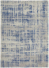 Ashley Abstract Modern Blue Grey Rug
