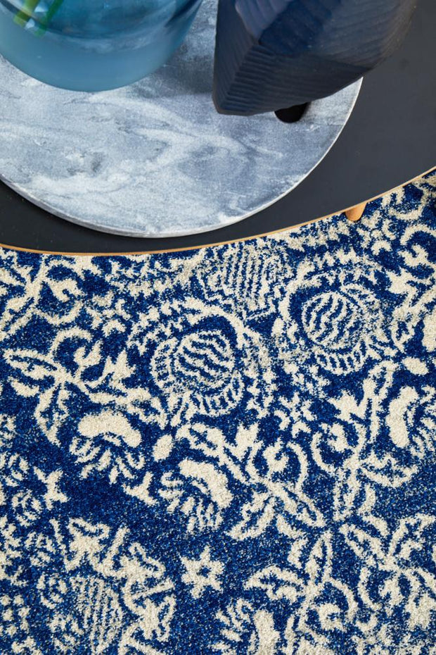 Gwyneth Stunning Transitional Navy Rug (11018419847)