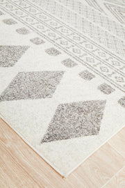 Adani Modern Tribal Design Grey Floor Rug (4354505212041)