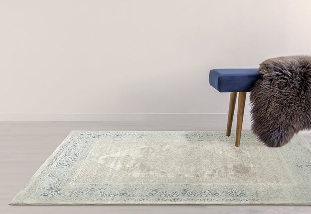 Esquire Hallmark Traditional Cream Rug
