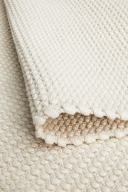 Carlos Felted Wool Rug White Natural (8815143047)