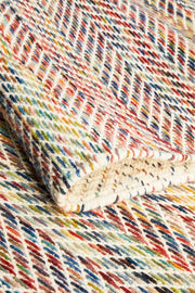 Roland Herringbone Multi Coloured Rug (8815783687)