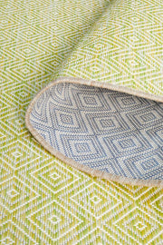 Terrace Clara Diamond Rug Lime Green (1414887997491)