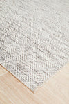Terrace Clara Diamond Rug Natural