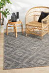 Terrace Cain Rug Brown